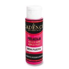 Cadence Akrylové barvy Premium fuchsiová