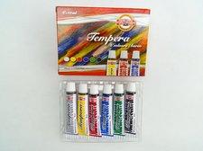 Temperové barvy Koh-i-noor 1625-6 barev 10 ml