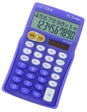 Citizen FC Junior - kapesní kalkulátor, fialová