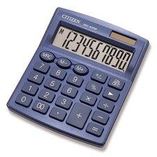 Citizen Stolní kalkulátor  SDC-810NR modrý