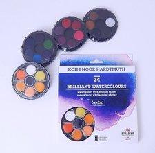 KOH-I-NOOR Barvy 174507/2  24 barev brilantní pr.22,5