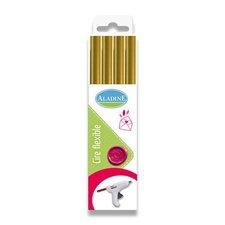 Aladine Pečetní vosk - výběr barev zlatý
