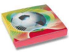Papírové ubrousky Football Party - 33x33cm, 20 ks
