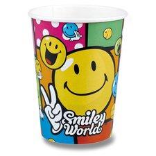 Papírové kelímky Smiley Comic - objem 0,25 l, 8 ks