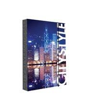 Heft box A4 Jumbo style City 1 Hongkong
