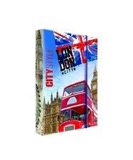 Heft box A4 Jumbo GEO CITY - Londýn