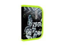 Karton P+P Penál 1patrový 2 klopy prázdný Premium Robot