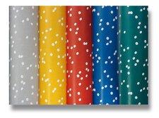 Dárkový balicí papír Clarefontaine Alliance Irregular dots - 2 x 0,7 m, mix barev