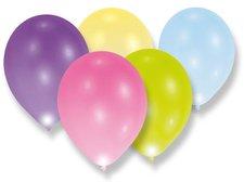 Nafukovací LED balónky - pastelové - 5 ks