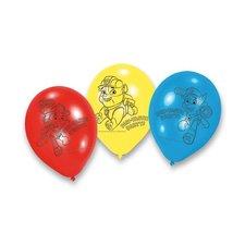 Amscan Nafukovací balónky Tlapková Patrola - 6 ks