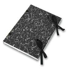 Desky s tkanicí Hit Office - A4, černé