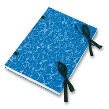 Desky s tkanicí Hit Office - A4, modré