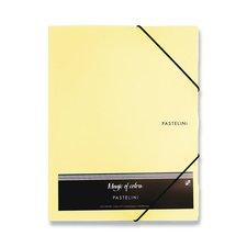 Karton P+P 3chlopňové desky Pastelini žluté