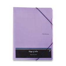 Karton P+P 3chlopňové desky Pastelini fialové