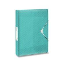 Esselte Box na dokumenty Colour'Ice ledově modrá