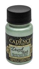 Textilní barva Cadence Dora Textile, met. mátová, 50 ml