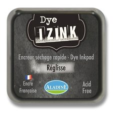 Razítkovací polštářek Izink Dye rychleschnoucí - antracitová