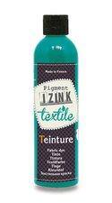 Barva na textil Aladine Teinture Izink -  modro-zelená, 250 ml