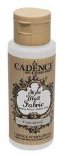 Barva na textil Cadence Style Matt Fabric, mat. bílá, 59 ml