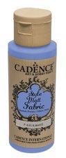 Barva na textil Cadence Style Matt Fabric, mat. modrá, 59 ml