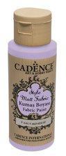 Barva na textil Cadence Style Matt Fabric  sv. fialová, 59 ml