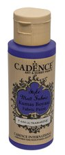 Barva na textil Cadence Style Matt Fabric tm. modrá, 59 ml