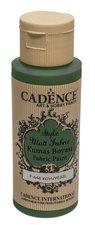 Barva na textil Cadence Style Matt Fabric tm. zelená, 59 ml