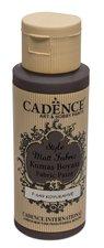 Barva na textil Cadence Style Matt Fabric  tm. hnědá, 59 ml