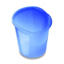 Odpadkový koš Helit - objem 13 l, modrý