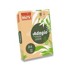 Barevný papír Rey Adagio - A4, 80 g, 500 listů, pastelový žlutý