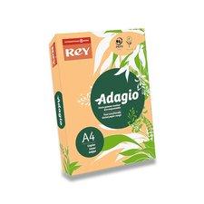 Barevný papír Rey Adagio - A4, 80 g, 500 listů, lososový