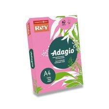 Barevný papír Rey Adagio - A4, 80 g, 500 listů, fluo růžový