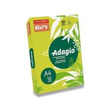 Barevný papír Rey Adagio - A4, 80 g, 500 listů, fluo zelený
