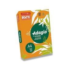 Barevný papír Rey Adagio - A4, 80 g, 500 listů, oranžový