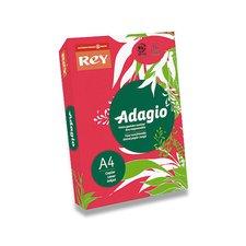 Barevný papír Rey Adagio - A4, 80 g, 500 listů, červený
