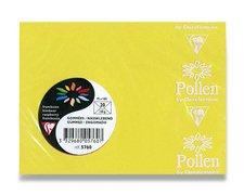 Barevná obálka Clairefontaine - 110×75 mm, samolepicí, žlutá