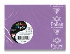 Barevná obálka Clairefontaine - 110×75 mm, samolepicí, fialová