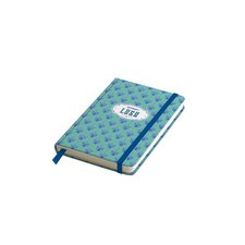 Ambar záznamní kniha  Lusa - A6, linkovaná, 80 listů