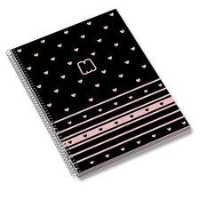 Ambar Kroužkový blok Marshmallow A5, linkovaný, 120 listů, mix motivů