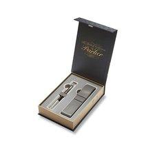 Parker Royal Urban Premium Ebony Metal CT - kuličková tužka, v dárkové kazetě s pouzdrem
