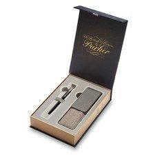 Parker Royal Sonnet Black CT - kuličková tužka, dárková kazeta s pouzdrem