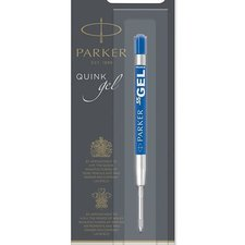 Parker Gelová náplň do kuličkové tužky modrá, F