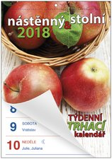 Nástěnný kalendář 2018 - Senior II. - A5