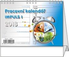 Stolní kalendář 2018 - Pracovní kalendář Impuls I.