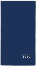 Měsíční diář 2020 - Františka - PVC, modrý