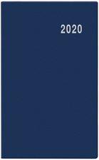 Měsíční diář 2020 - Marika - V1 - PVC, modrý