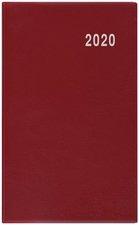 Měsíční diář 2020 - Marika - V1 - PVC, bordó