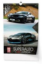 Nástěnný kalendář 2019 - Superauto - A3