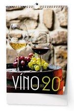 Nástěnný kalendář 2020 - Víno - A3