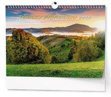 Nástěnný kalendář 2019 - Toulky přírodou - A3